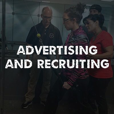 Advertising and Recruiting