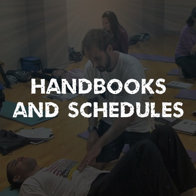 Handbooks and Schedules