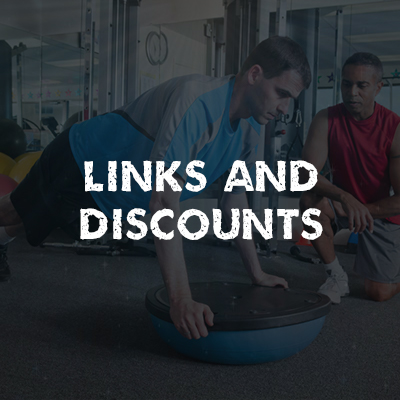 Links and Discounts